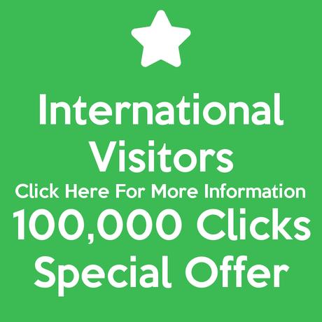 International Visitors 100,000 Clicks Special Offer