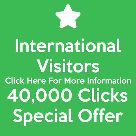 International Visitors 40,000 Clicks Special Offer