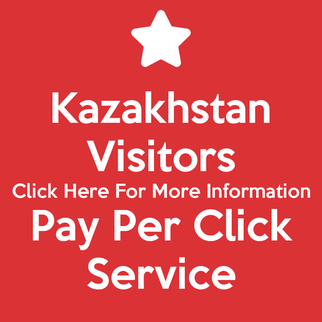 Kazakhstan Visitors Pay Per Click Service