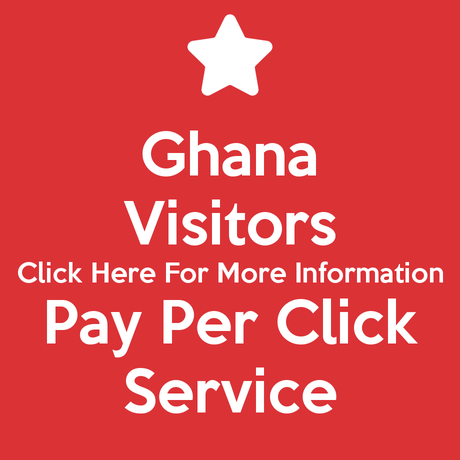 Ghana Visitors Pay Per Click Service