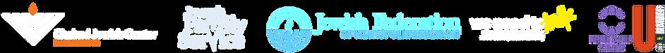 Sponsoring logos for dark background wid