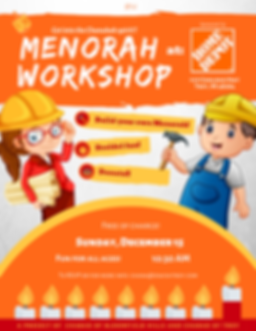 Copy of Copy of Menorah Workshop Home De