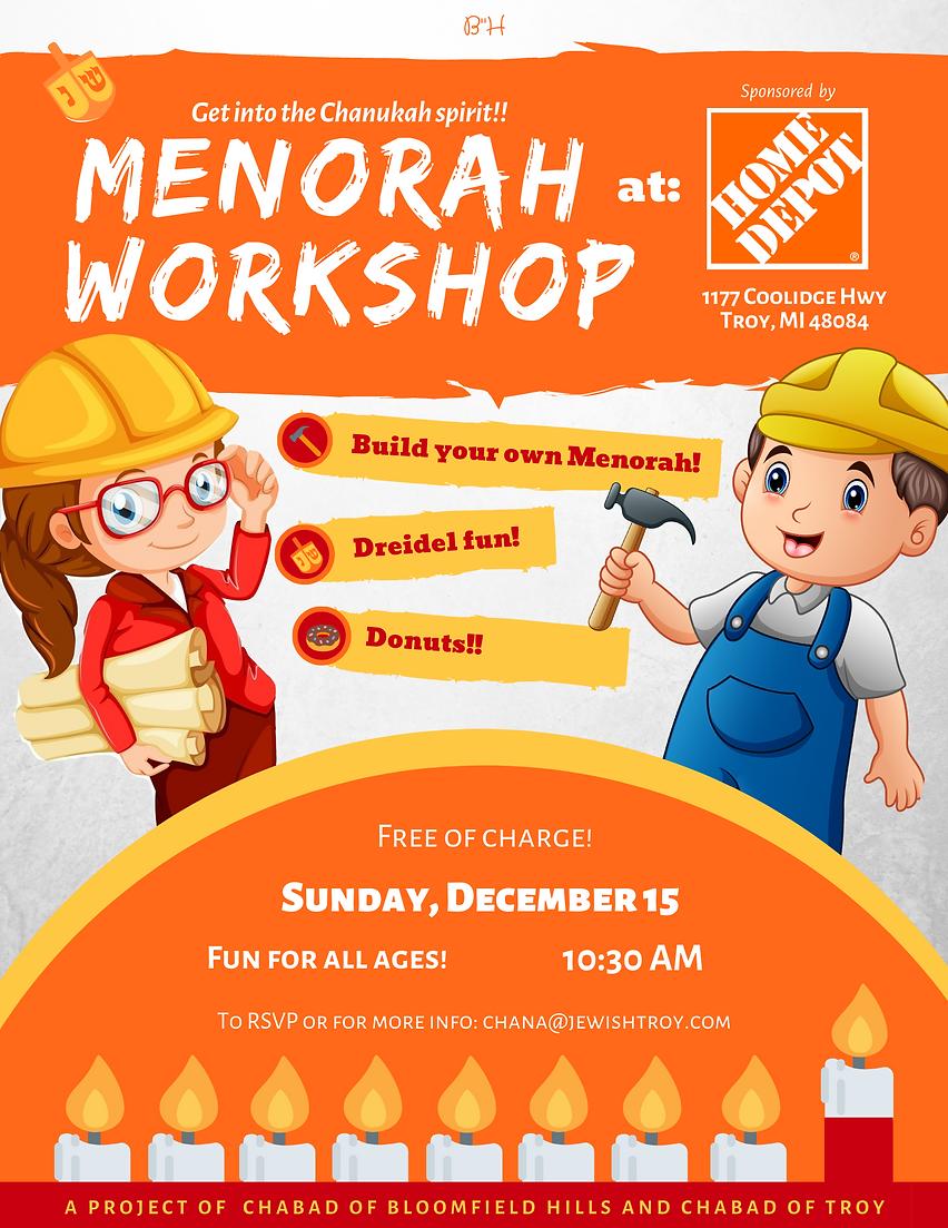 Copy of Copy of Menorah Workshop Home De