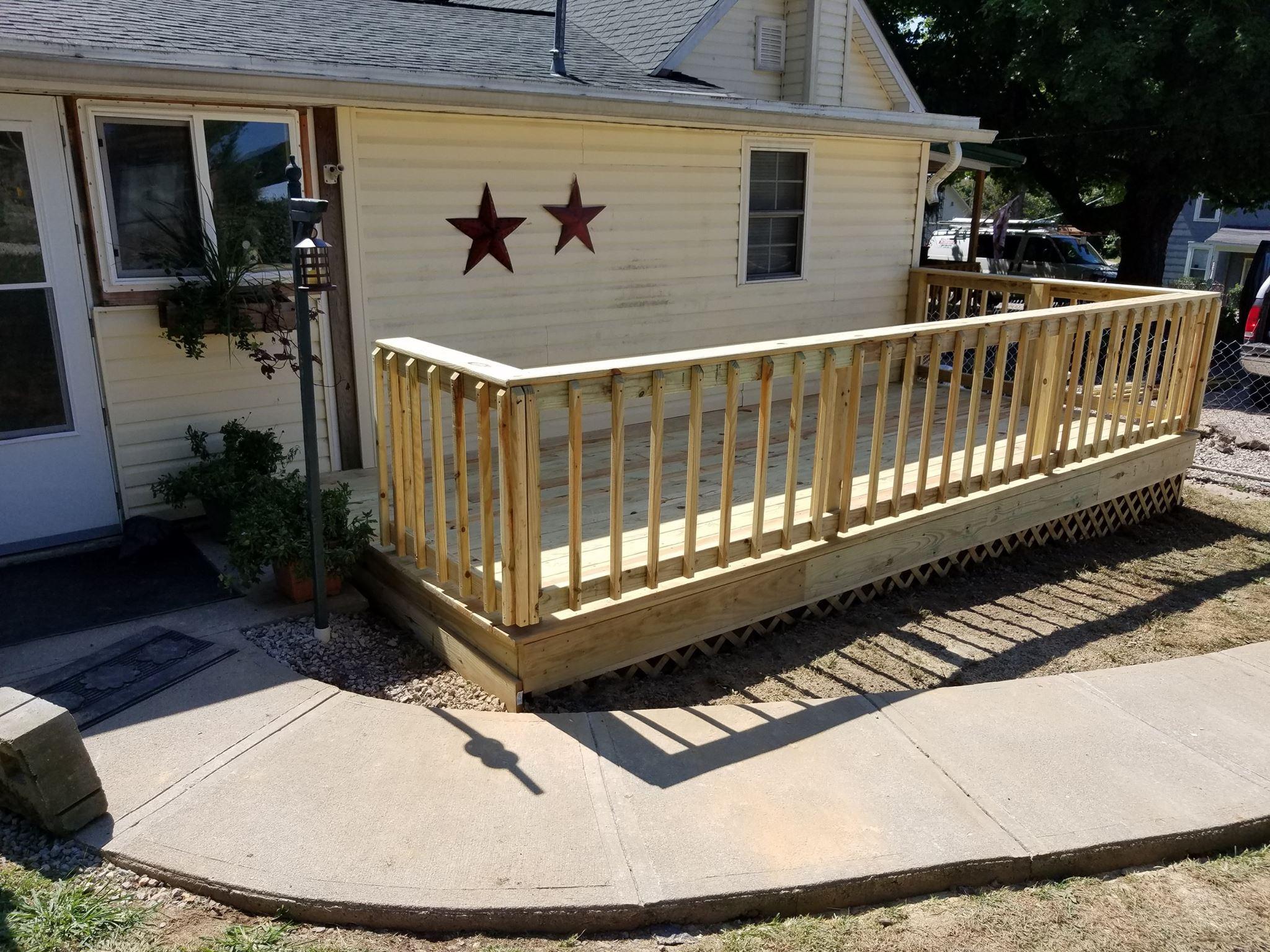 Union Furnace Porch
