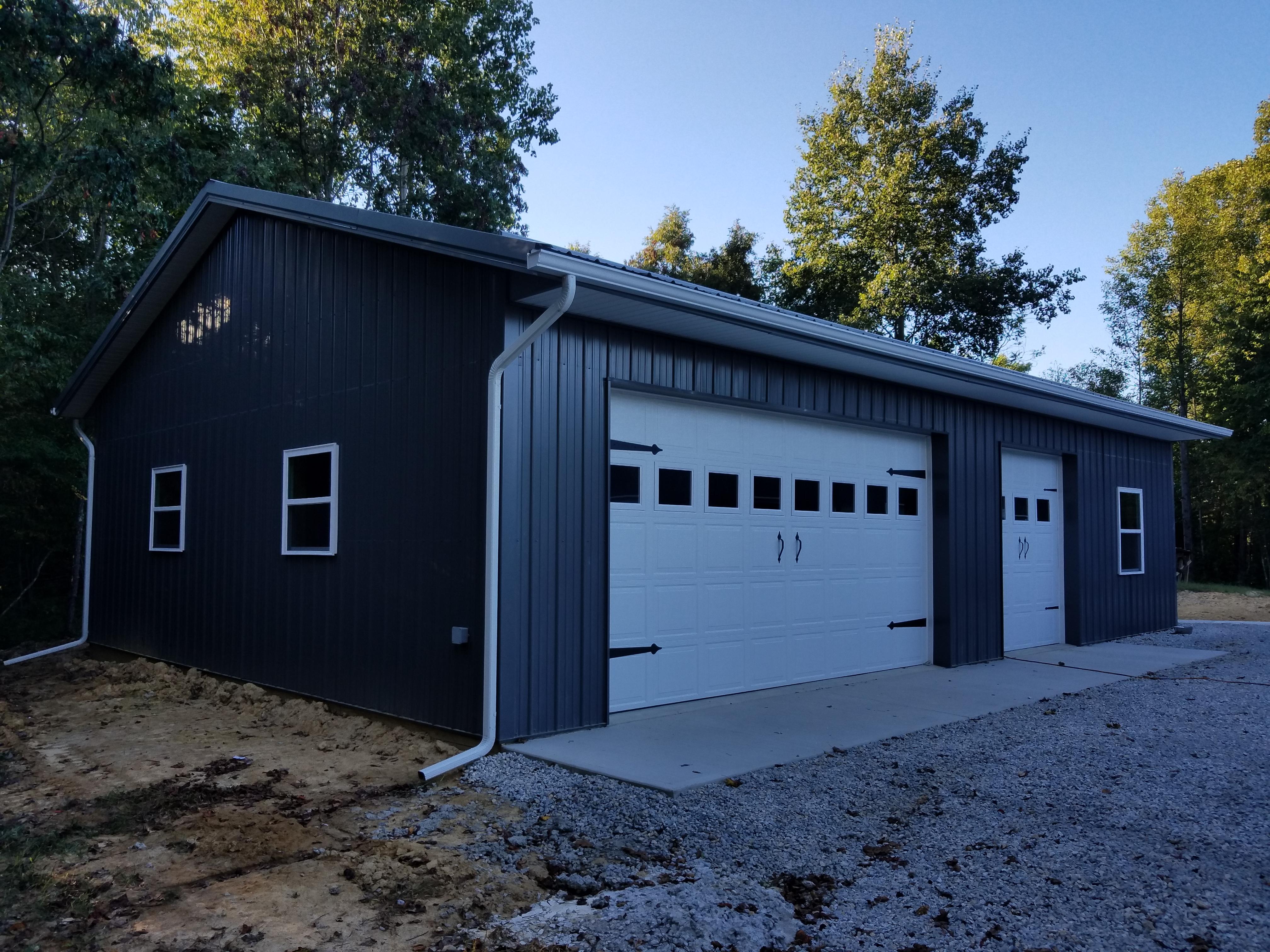 Logan Pole Barn Garage