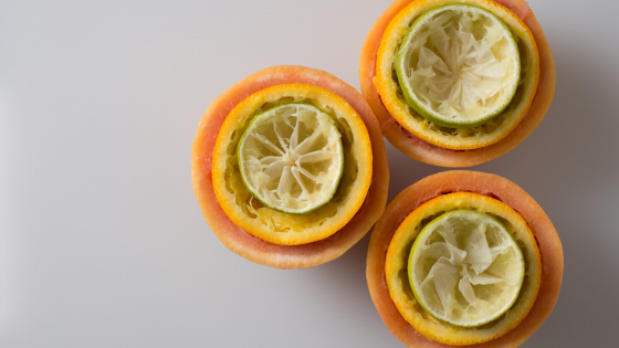 Fruit Waste Facial Steam