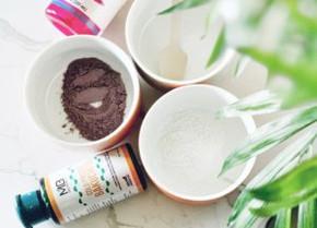 Rice, Rose Patel Powder & Bakuchiol Oil in Face Mask: