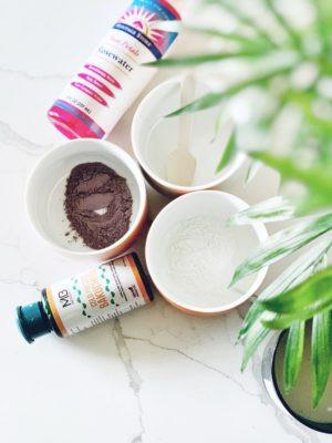 Rice, Rose Patel Powder & Bakuchiol Oil in Face Mask