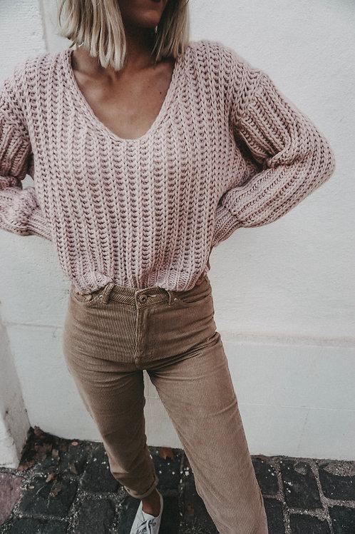 Pullover '' Oh Dear'' Rose