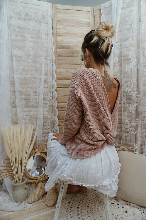 Pullover ''Knotted Love''