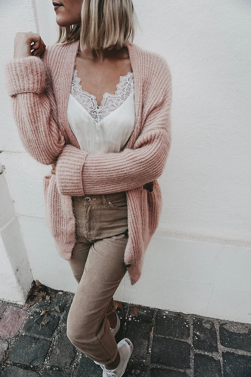 Cardigan ''Cozy Mozy'' Rose