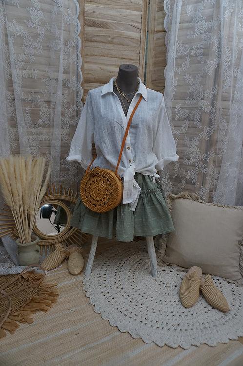 Bali Tasche braun geflochten