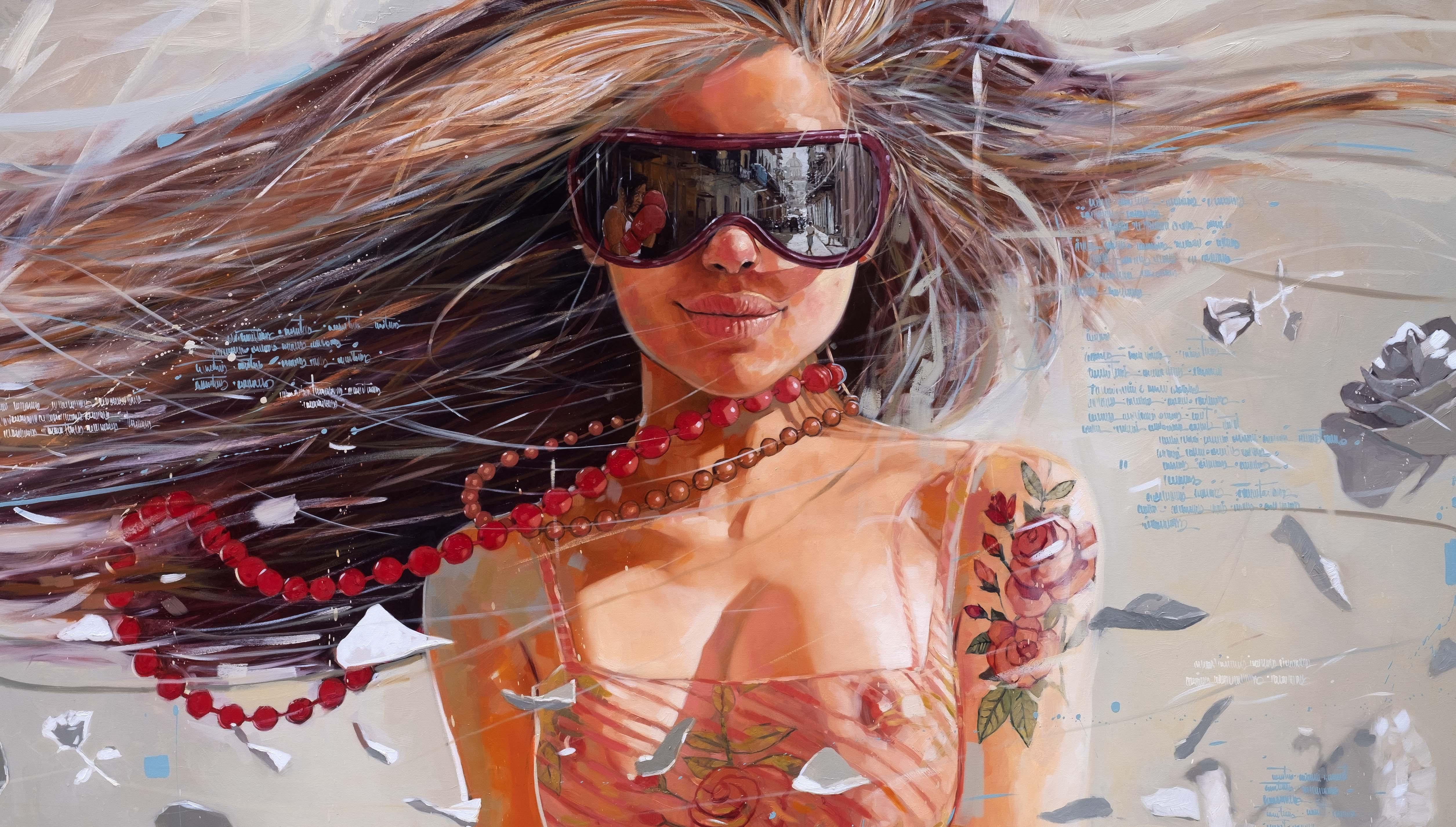 Detalle_%22MOTION%22_Oil on canvas