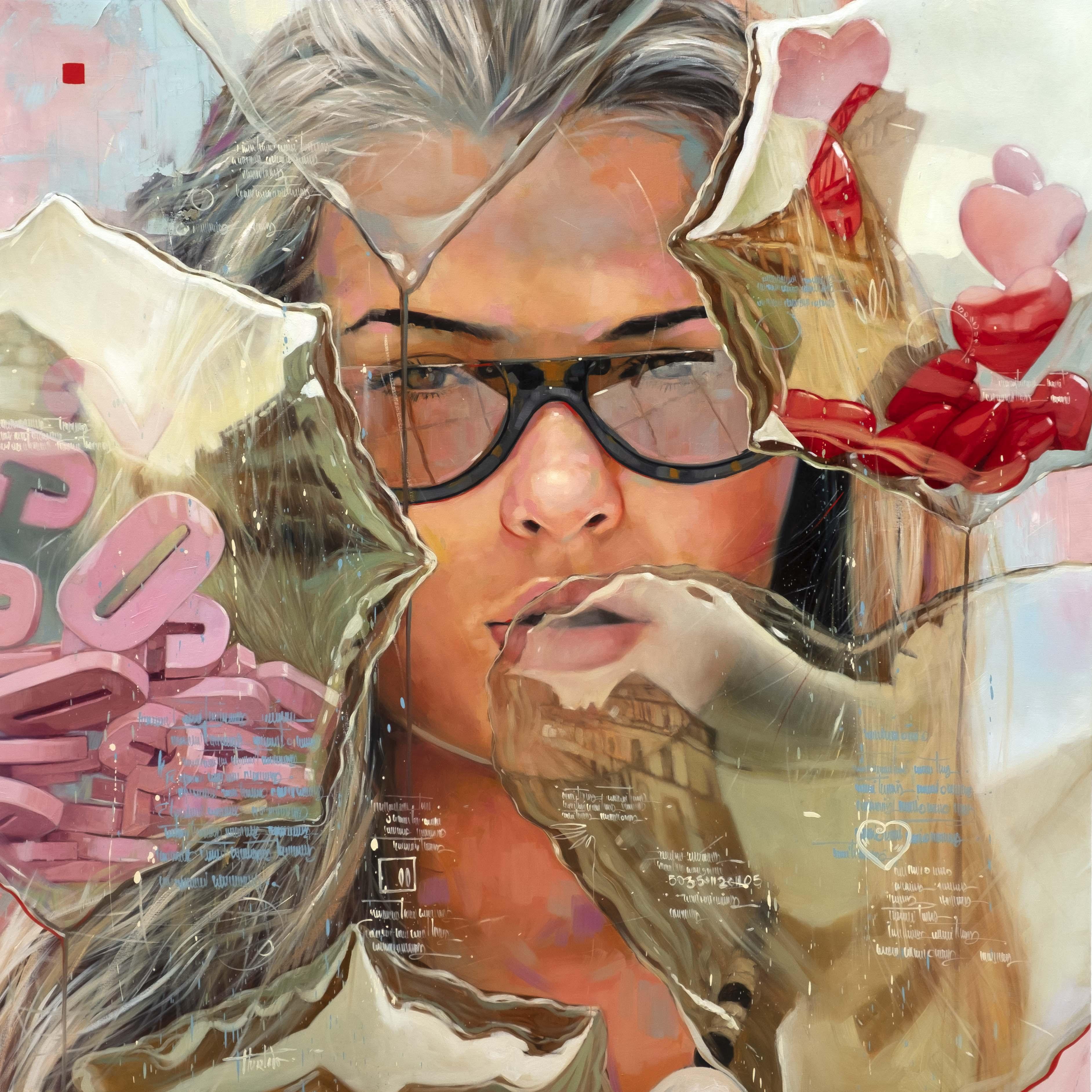 Decision. Oil on canvas. 150x150cm