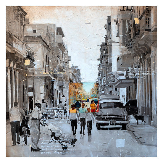 """Serie, Ciudades"" Print, Limited edition."