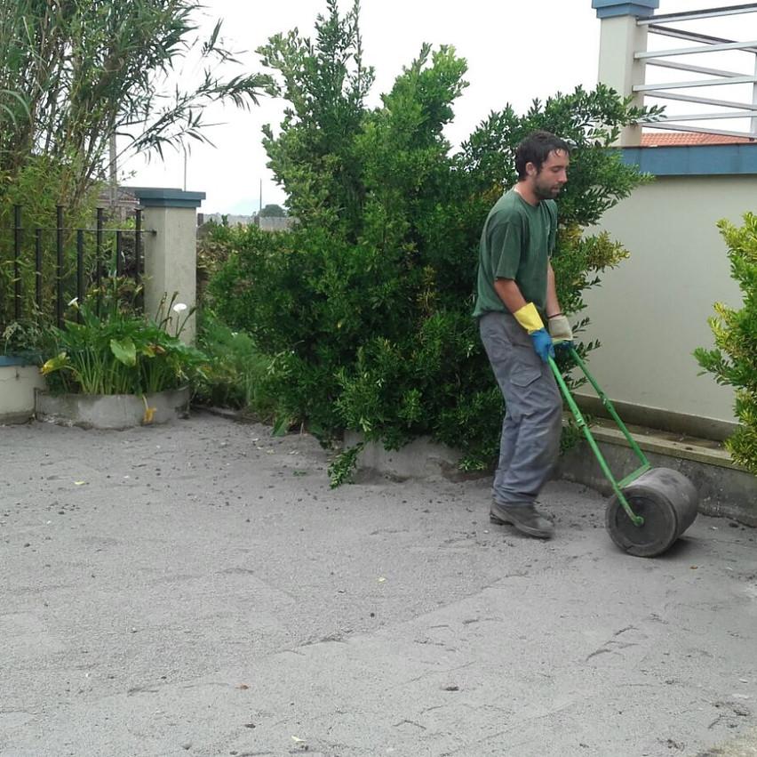 Renovación de jardín en Ribeira