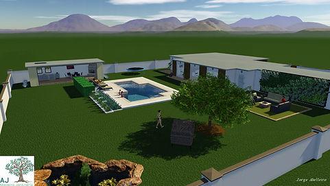 Diseño-3D- Jardines-Creación