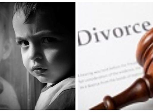 CHILDREN MISERY IN DIVORCE TUG OF WAR