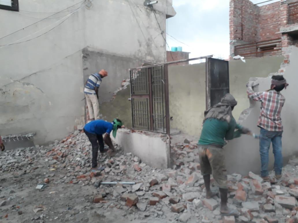 Slumskolen i Jammu får nytt bygg