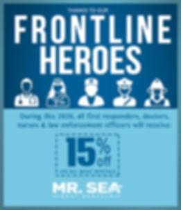 Frontline Heroes Miami Boat Discount