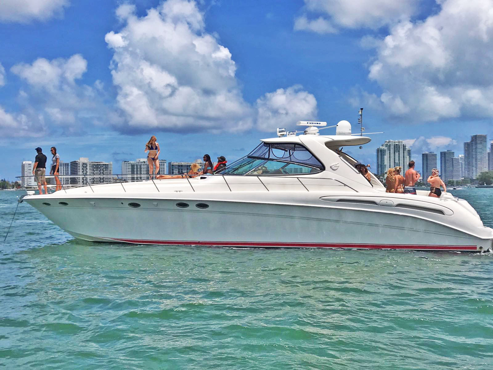 4 & 6hrs Sea Ray 58ft