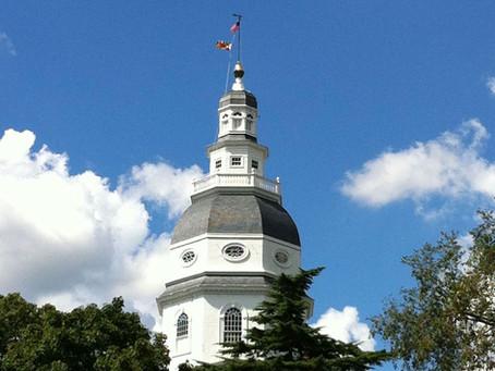 Maryland Legislature Adjourns but Tackles Significant Legislation for Our Schools