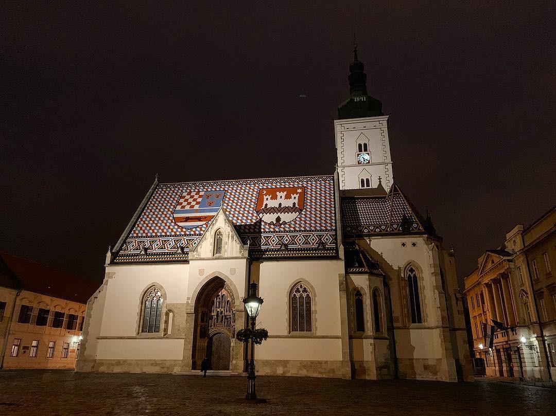 St.Mark church Gradec - Zagreb private w