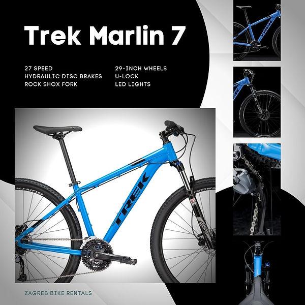 Bicycle - Trek Marlin 7