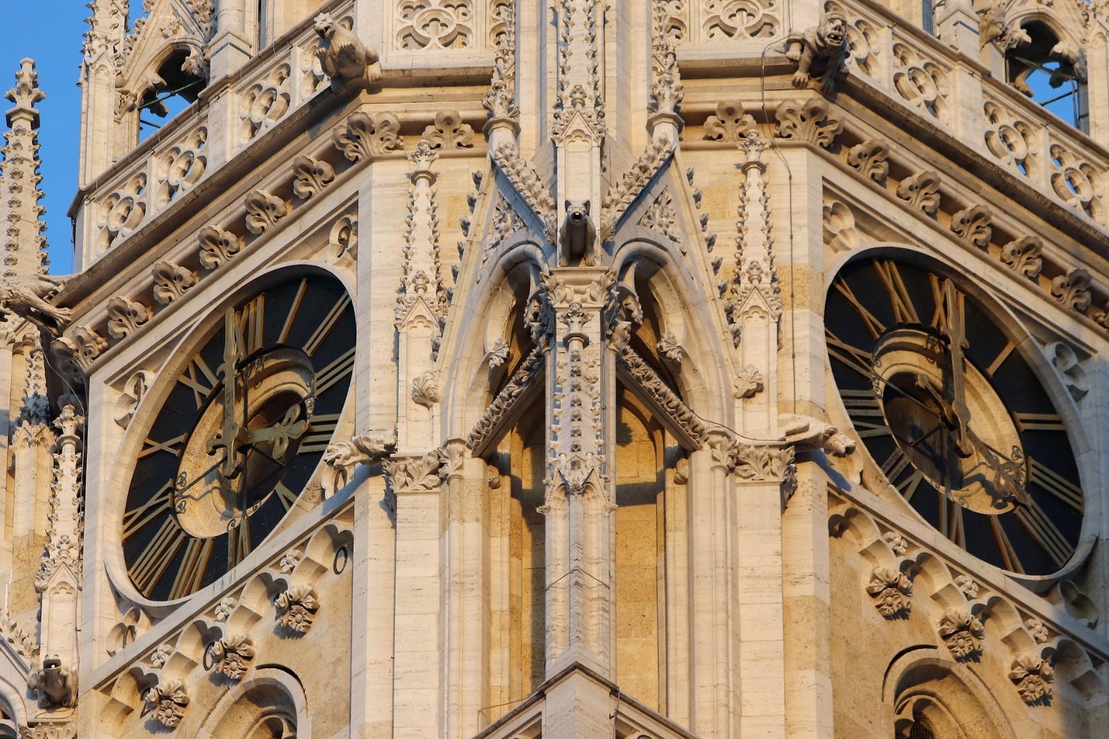 Zagreb cathedral clocks