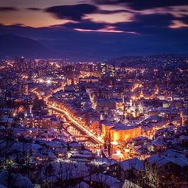 Private one-way transfer from Zagreb to Sarajevo