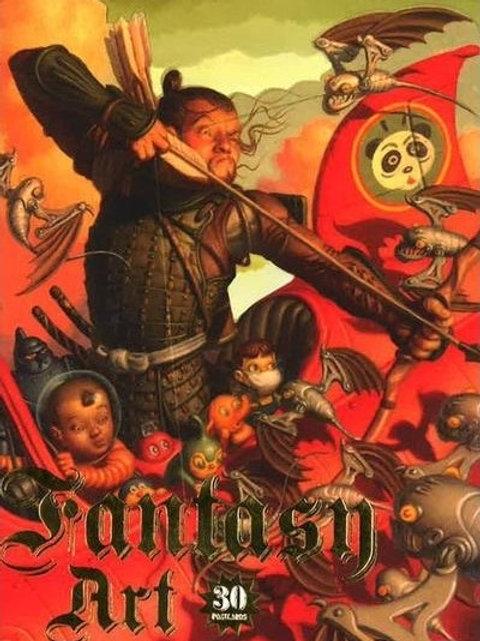 Fantasy Art: 30 Postcards