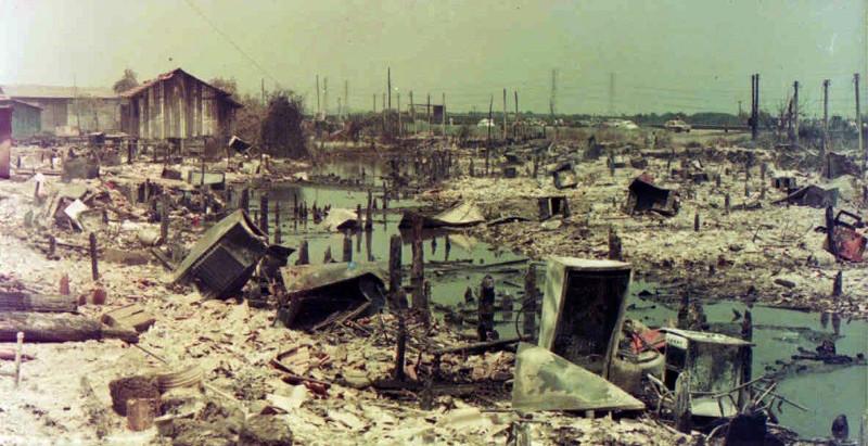 Incêndio na Vila Socó, uma tragédia para servir de lição
