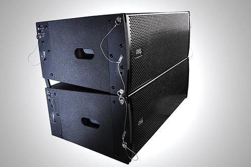 PRO 210A I , 1000W+400W AMPLIFIER,  2x10'' + 2x1,7'' Voice coil