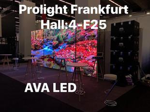 Prolight + Sound 2019 Messe Frankfurt