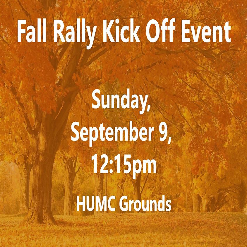 Fall Rally Kick Off Event