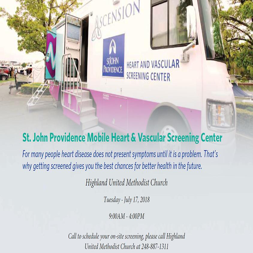 St. John Providence Mobile Heart & Vascular Screening Center