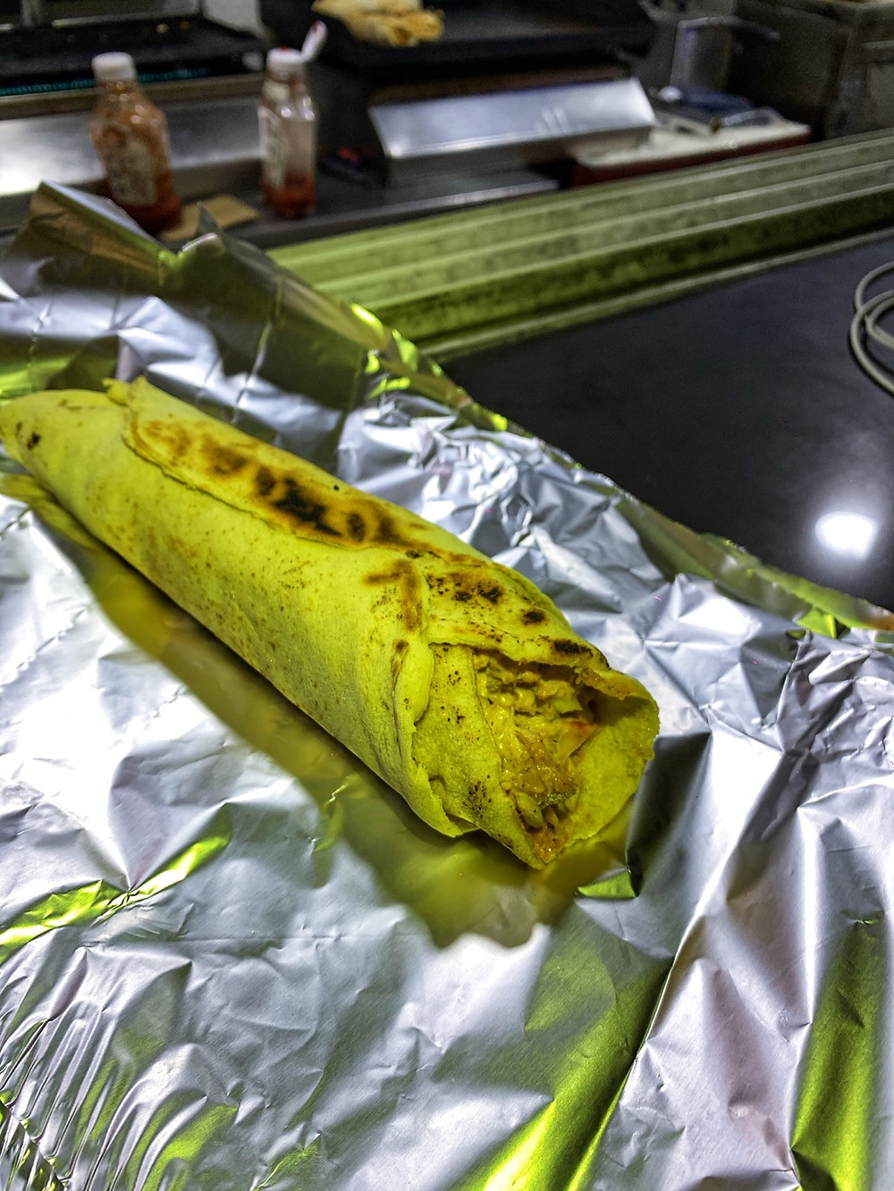 A common Nigerian street food