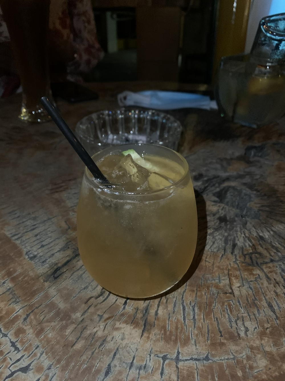 Whiskey sour at Keje Grill