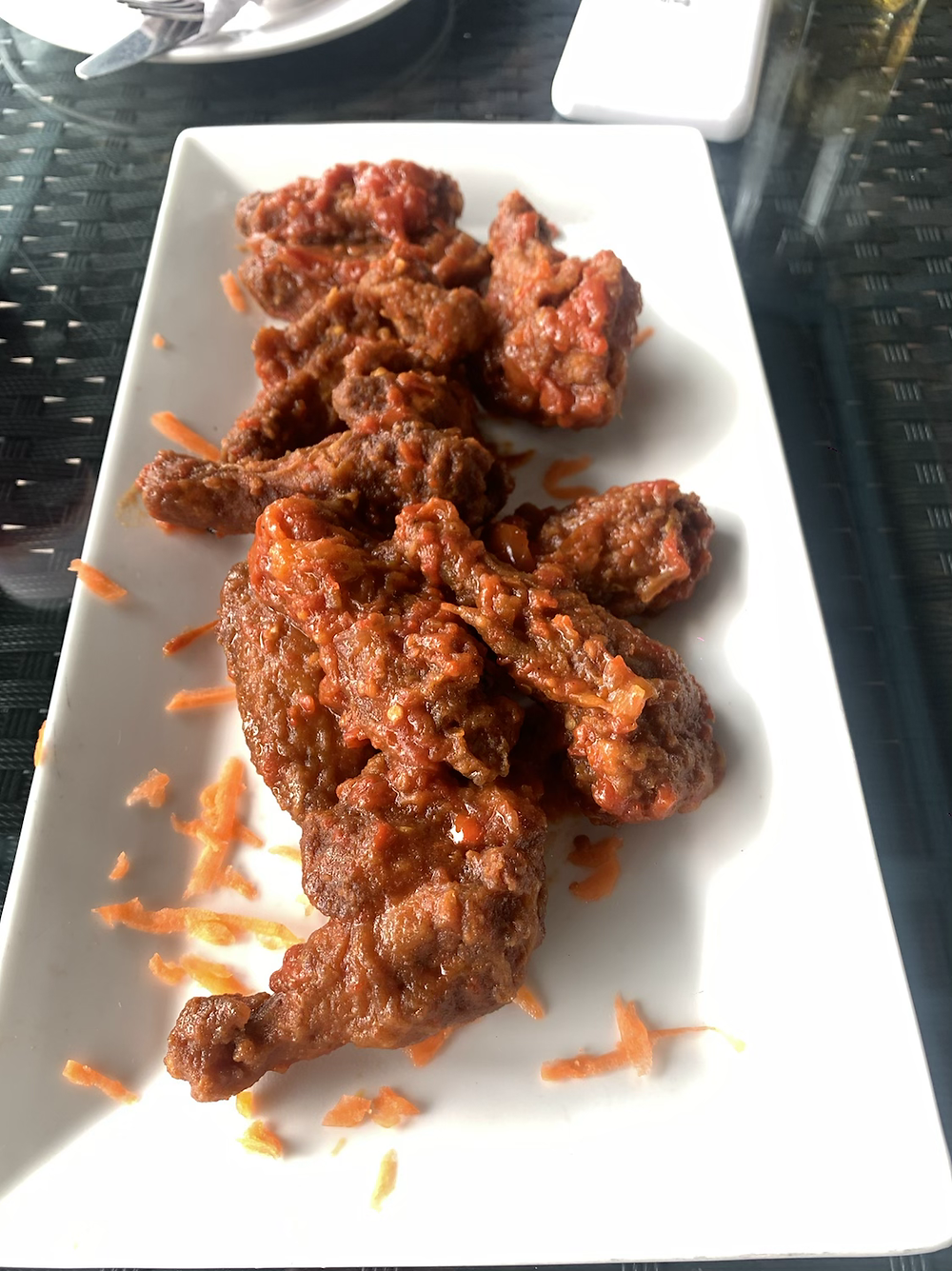 Peppered wings from Boys Company