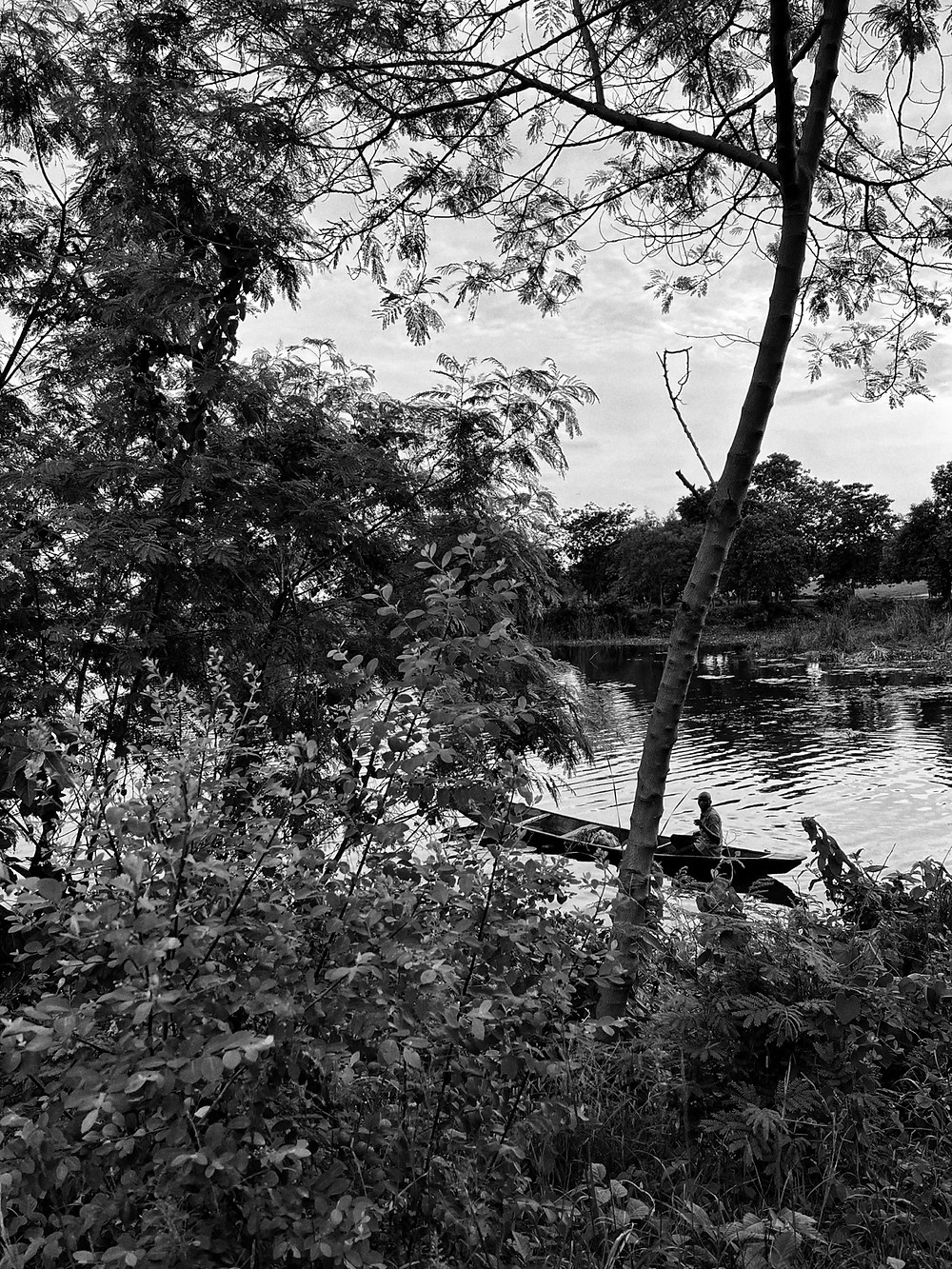 fisherman on jabi lake