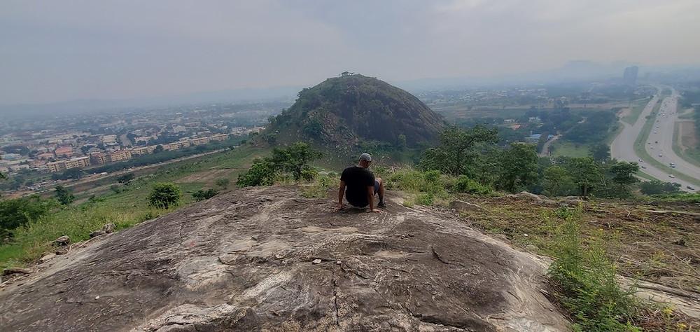 View from Wonderland peaks, abuja