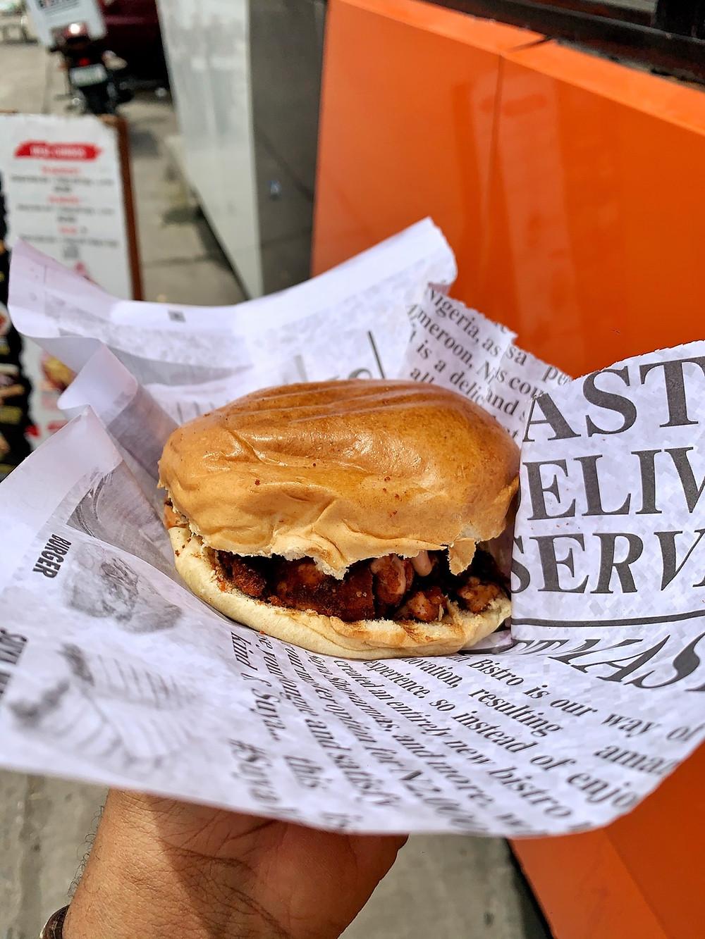 Sooyah bistro burger