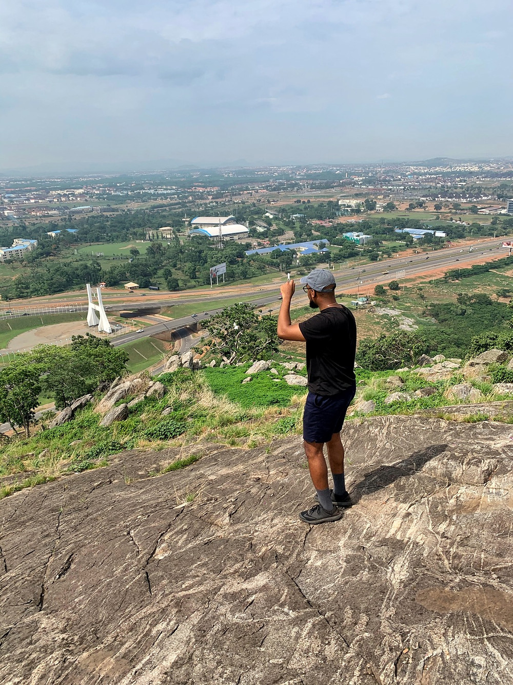 View of the Abuja City Gate