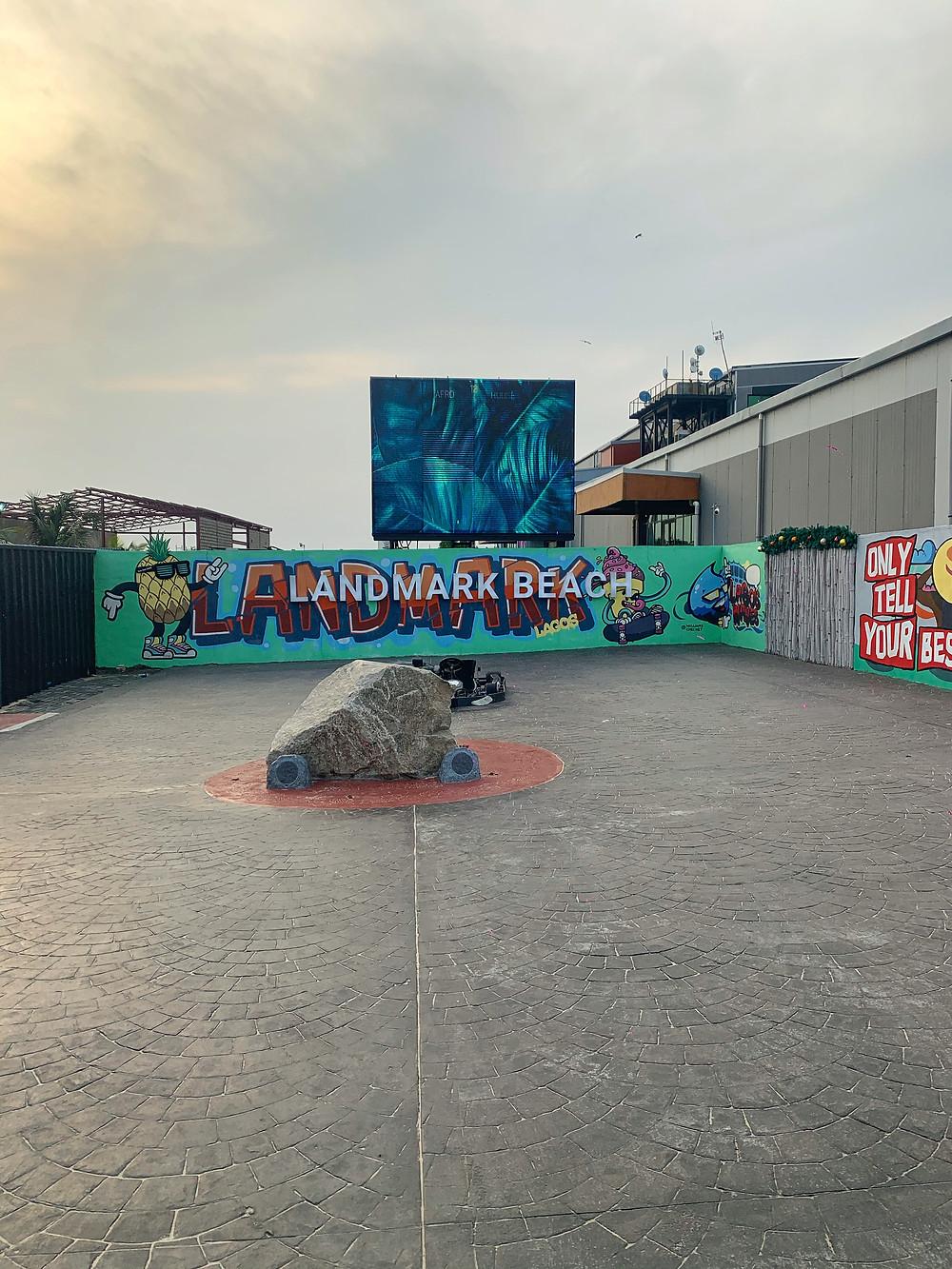 Art at Landmark beach
