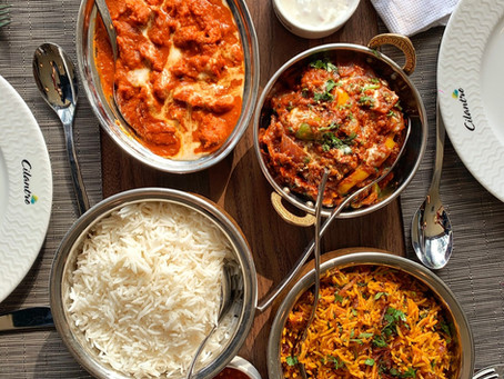 Lunch at Cilantro, Lagos