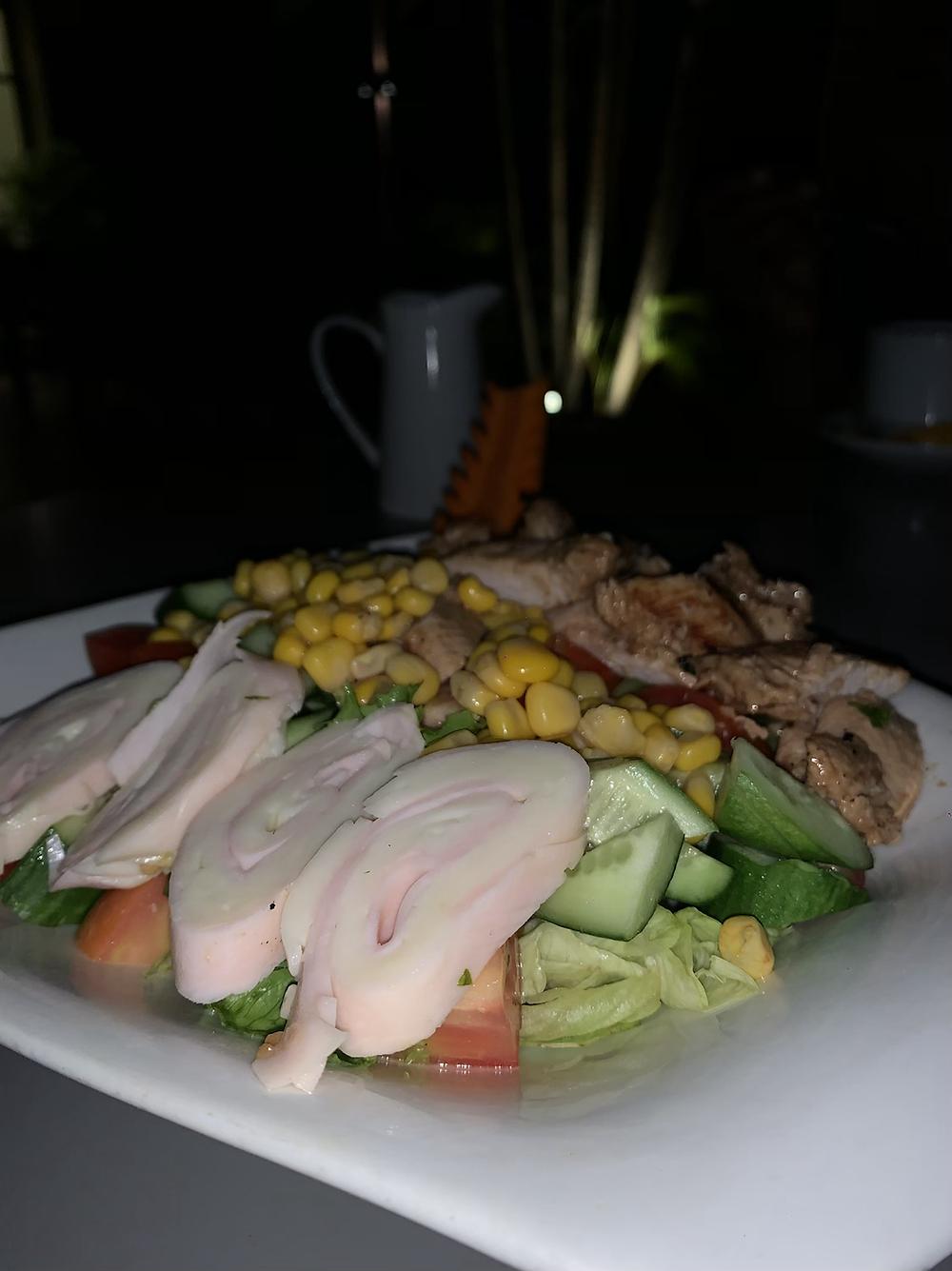 Chef salad from blucabana