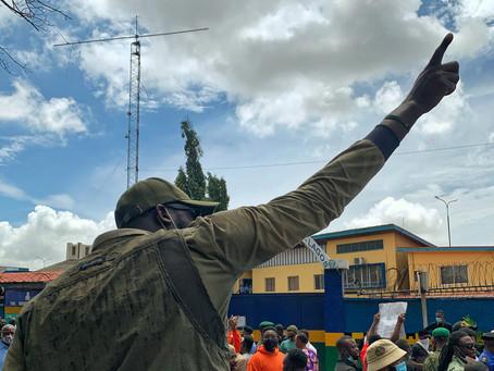 Protesting in Lagos #EndSars