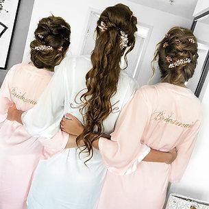 Nicoleta wedding hair