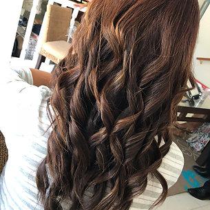 Glamour barrel curls