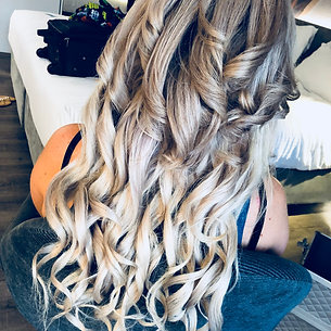 Extensions/hair piece - glamour curls